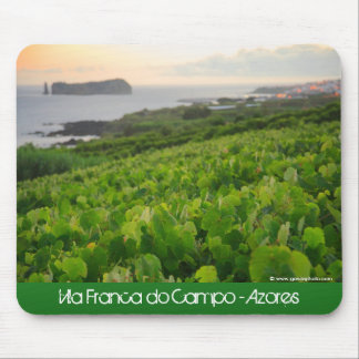 Islet and Vineyards Mouse Pad