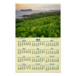 Islet and Vineyards Poster