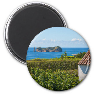 Islet in Azores 2 Inch Round Magnet