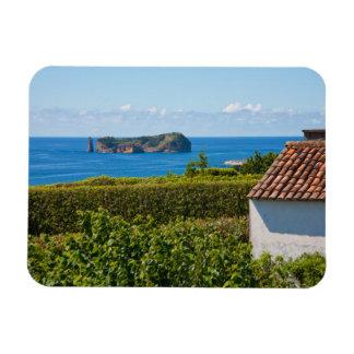 Islet in Azores Rectangular Photo Magnet