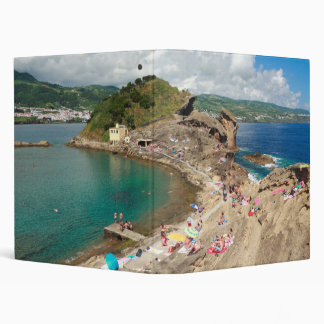 Islet in the Azores 3 Ring Binder