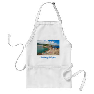 Islet in the Azores Adult Apron