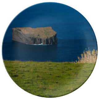 Islet in the Azores Porcelain Plate