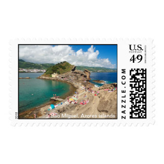 Islet in the Azores Postage