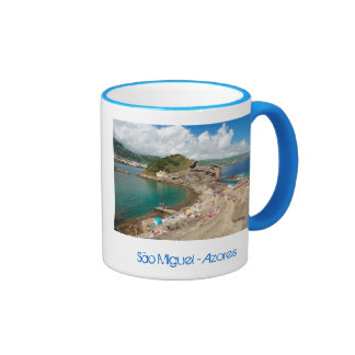 Islet in the Azores Ringer Mug