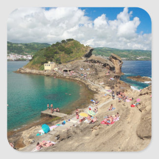 Islet in the Azores Square Sticker