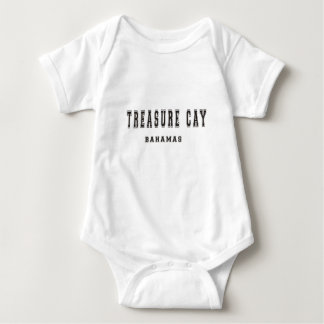 Isleta Bahamas del tesoro Body Para Bebé