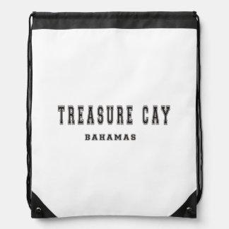 Isleta Bahamas del tesoro Mochilas
