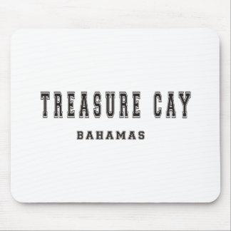 Isleta Bahamas del tesoro Tapetes De Raton