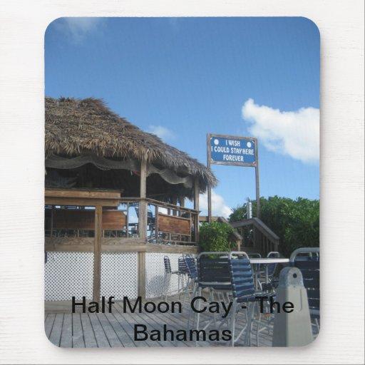 isleta de la media luna, Bahamas (8), isleta de la Alfombrilla De Ratón