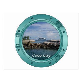 Isleta de los Cocos, Bahamas Postales