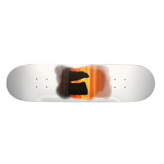 Islets at sunset skateboard