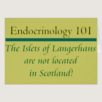 Islets of Langerhans Card