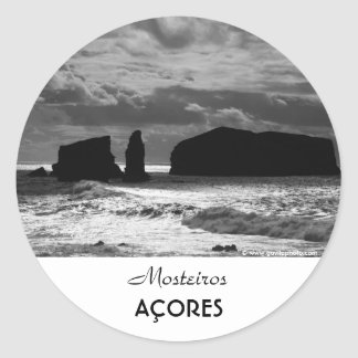 Islets Classic Round Sticker