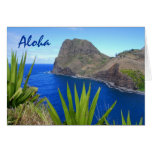 Islote de Moke'ehia, Maui, hawaiana, hola Tarjetón