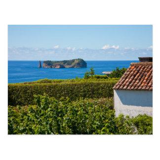 Islote en Azores Postales