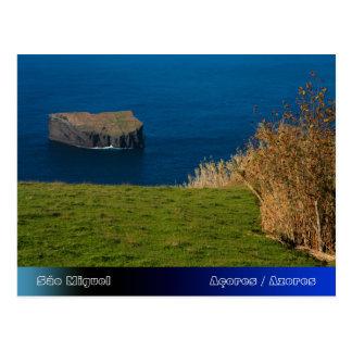 Islote en Azores Tarjetas Postales