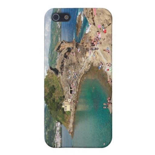 Islote en las Azores iPhone 5 Funda