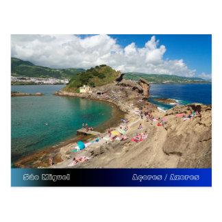 Islote en las Azores Postales