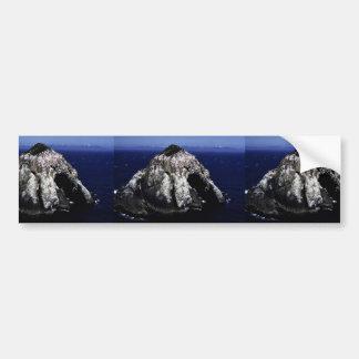 Islote nebuloso grande pegatina de parachoque