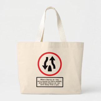 Ism Schism - Jumbo Tote Jumbo Tote Bag