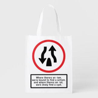 Ism Schism - Reusable Shopping Bag Market Tote