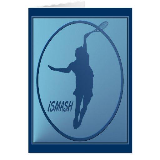 iSMASH Tennis framed Card
