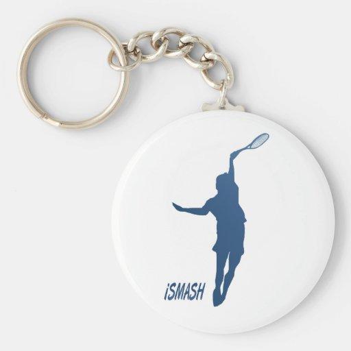 iSMASH Tennis Keychain