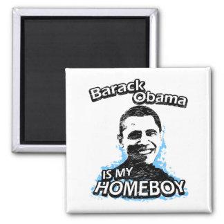 ismyhomeboy - Barack Obama 2 Inch Square Magnet