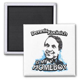 ismyhomeboy - Dennis Kucinich 2 Inch Square Magnet