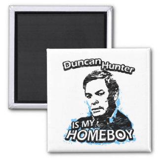 ismyhomeboy - Duncan Hunter 2 Inch Square Magnet