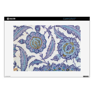"Isnik earthenware tile, c.1520-50 15"" laptop skins"
