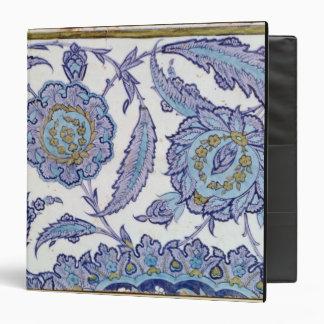 Isnik earthenware tile, c.1520-50 vinyl binder