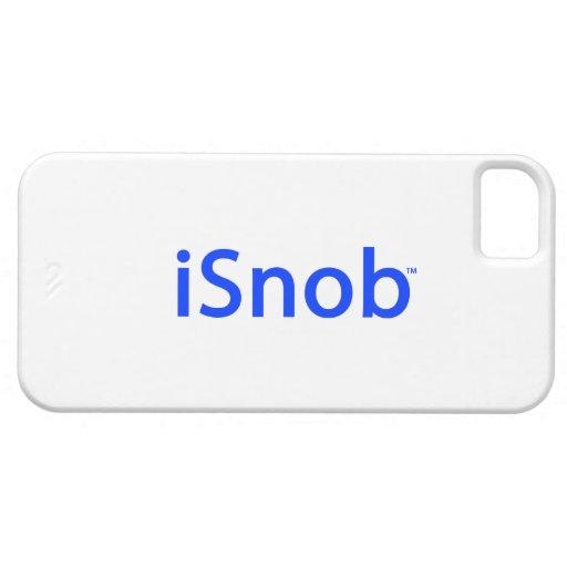 """""""iSnob"""" por el caso de la Marca-iPhone 5 del snob iPhone 5 Case-Mate Protector"""