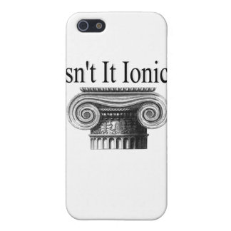 Isn't it Ionic? iPhone SE/5/5s Cover