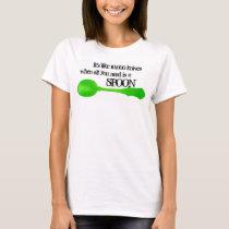 Isn't it Ironic Spoon Shirt green