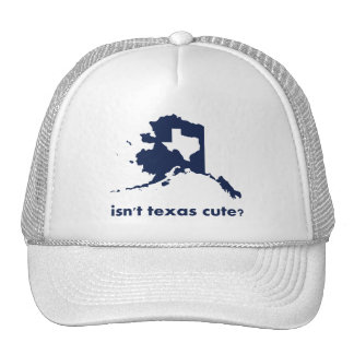 Isn't Texas Cute Compared to Alaska Trucker Hat
