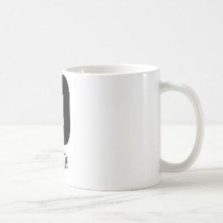 ISO black Classic White Coffee Mug