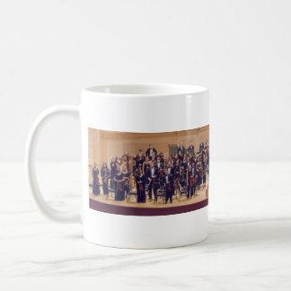 ISO Mug, Symphony Classic White Coffee Mug