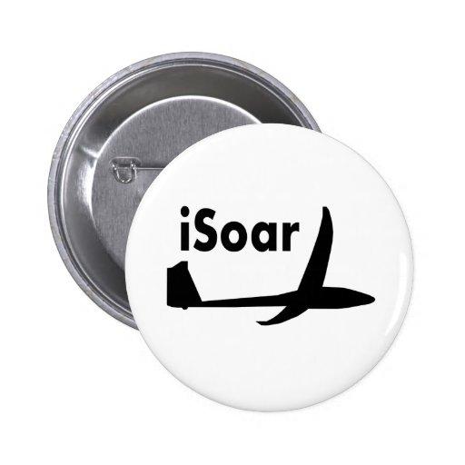 iSoar black logo Button