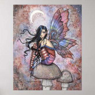 Isobel the Introvert Fairy Fantasy Art Print