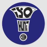 isoHunt Exclamation! Sticker