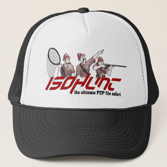 ISOHunt Safari Trucker Hat