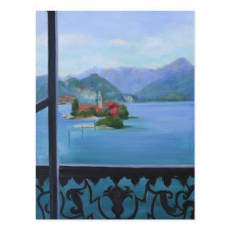 Isola  Balcony Postcard