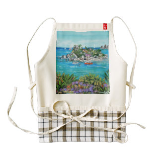 Isola Bella - Delantal Zazzle HEART