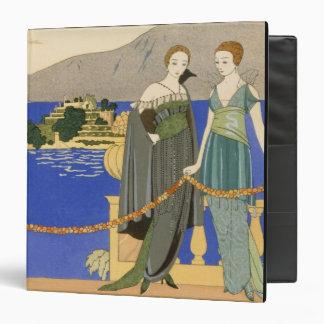 Isola Bella, evening dresses designed by Redfern, 3 Ring Binder