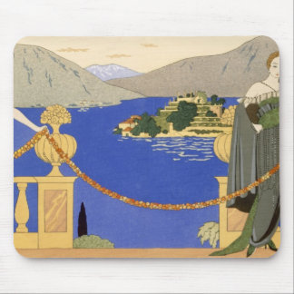 Isola Bella, evening dresses designed by Redfern, Mouse Pad