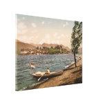 Isola Bella II, lago Maggiore, Piamonte, Italia Lienzo Envuelto Para Galerías