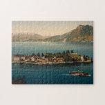 Isola Bella III, lago Maggiore, Piamonte, Italia Rompecabeza Con Fotos