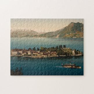 Isola Bella III, lago Maggiore, Piamonte, Italia Rompecabeza